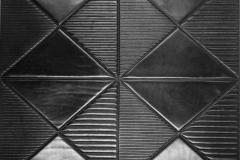 Dalle croute de cuir sol/mur Carre strie 2